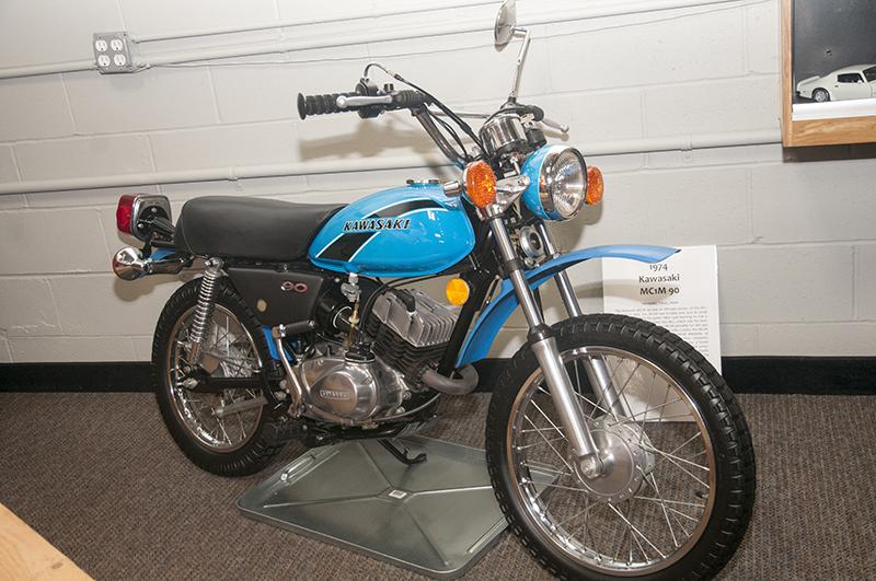 1974 Kawasaki MC-1A 90 Enduro